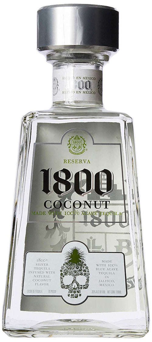 Buy 1800 Coconut Tequila Recommended At Caskcartel Com