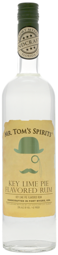 Mr. Tom's Spirits Key Lime Pie Rum - CaskCartel.com