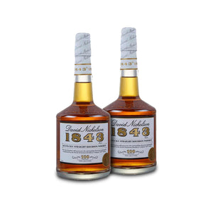 David Nicholson 1843 Bourbon Whiskey (2) Bottle Bundle at CaskCartel.com