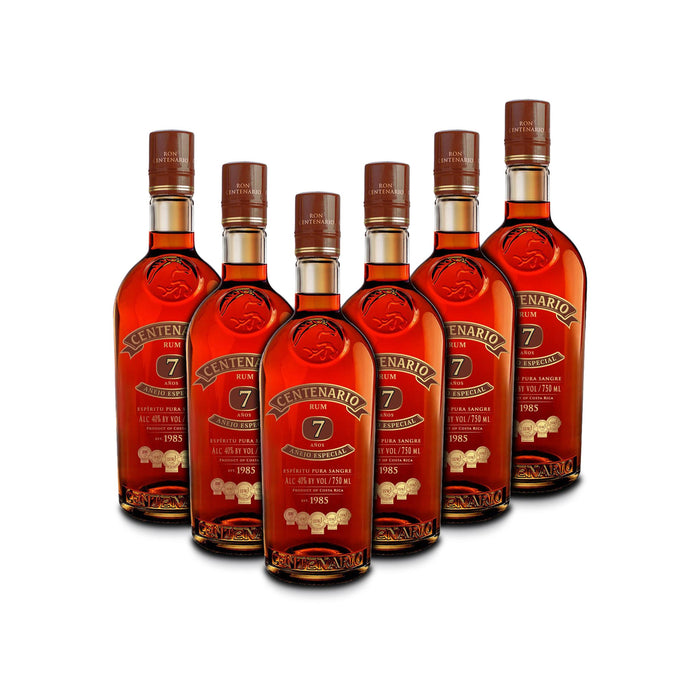 Ron Centenario 7 Anejo Especial Rum (6) Bottle Bundle