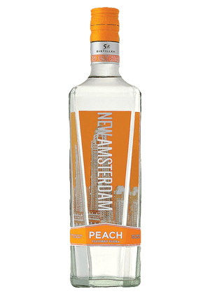 New Amsterdam Peach Vodka - CaskCartel.com