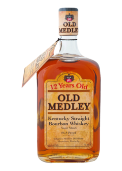 Old Medley 12 Year Old Kentucky Straight Bourbon Whiskey
