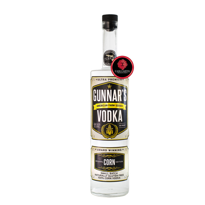 Gunnar's American Farm Corn Vodka
