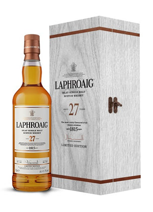 Laphroaig 27 Year Old Single Malt Scotch Limited Edition Whisky - CaskCartel.com