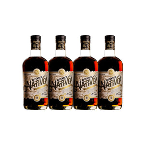 Auténtico Nativo 15 Year Old Special Reserve Rum (4) Bottle Bundle at CaskCartel.com