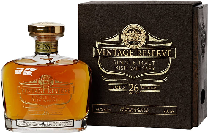 Teeling Vintage Gold Reserve 1987 26 Year Old Irish Single Malt Whisky