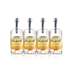 Blue Spirits Mango Flavored Vodka (4) Bottle Bundle at CaskCartel.com
