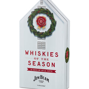 Jim Beam Twelve Days of Whiskies Gift Set | Holiday Calendar 2020 at CaskCartel.com