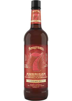 Seagram's 7 Crown Spiced American Blended Whiskey - CaskCartel.com
