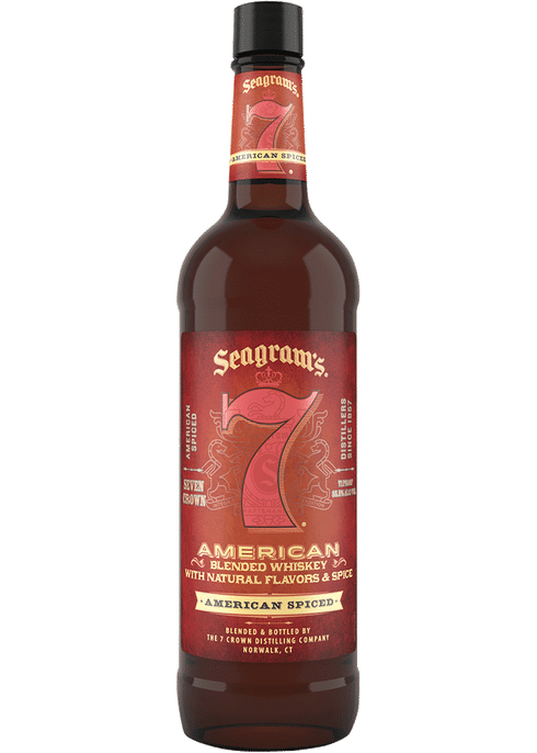 Seagram's 7 Crown Spiced American Blended Whiskey 1L