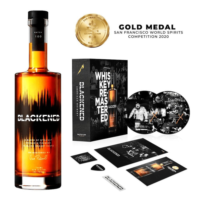 METALLICA | BOX SET | BLACKENED® AMERICAN WHISKEY | LIMITED EDITION BATCH 100