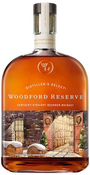 "Woodford Reserve | ""2020 Winter Slumber"" Special Edition Bourbon Whiskey at CaskCartel.com"