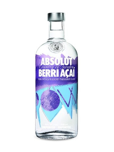 Absolute Açaí Berry Vodka 1.75 liter