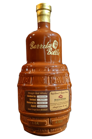 Barrel and Bottle Balcones Select American Oak Single Barrel #3525 | Straight Malt Whisky - CaskCartel.com