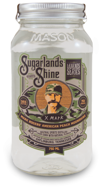 Sugarlands Shine Mark Rogers' American Peach Moonshine CaskCartel.com