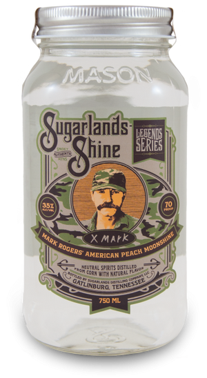 Sugarlands Shine Mark Rogers' American Peach Moonshine - CaskCartel.com