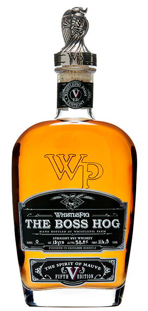 WhistlePig The Boss Hog V Spirit of Mauve Straight Rye Whiskey CaskCartel.com
