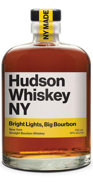 "Hudson New York ""Bright Lights, Big Bourbon"" Straight Bourbon Whiskey at CaskCartel.com"