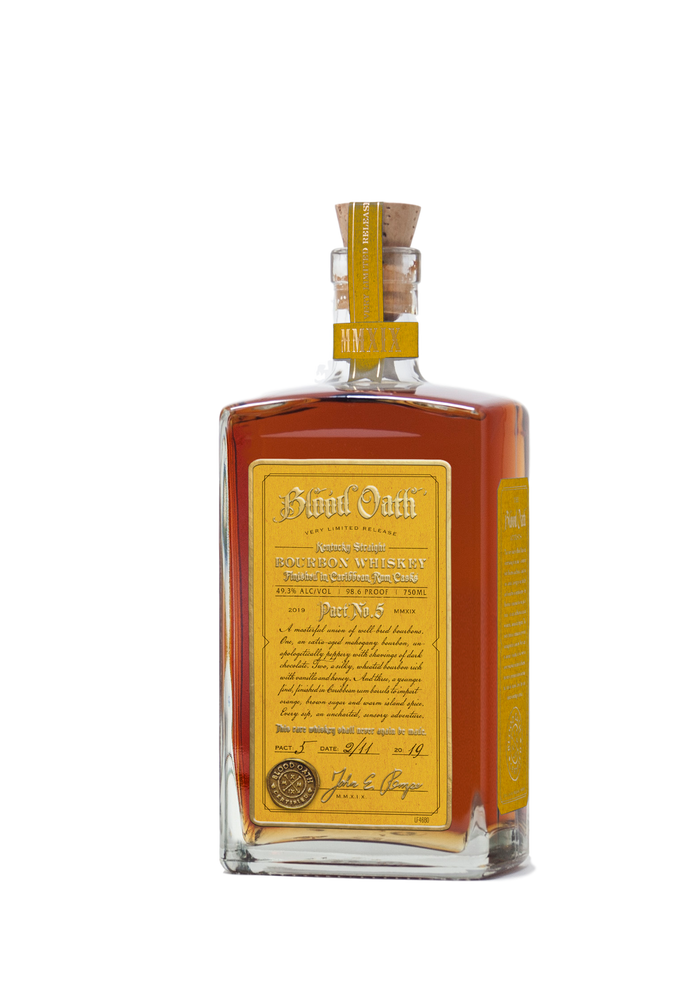 Blood Oath Kentucky Straight Bourbon Whiskey 2019 Pact No. 5