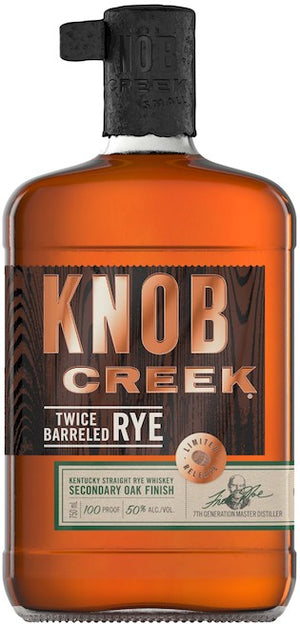 Knob Creek Twice Barreled Rye Bourbon Whiskey - CaskCartel.com