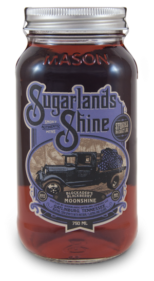 Sugarlands Shine Blockader's Blackberry Moonshine - CaskCartel.com