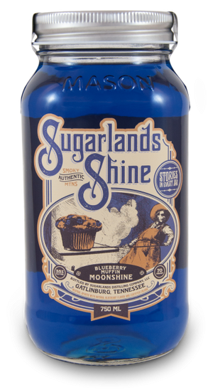 Sugarlands Shine Blueberry Muffin Moonshine - CaskCartel.com