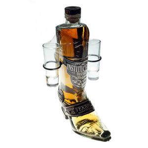 Texano Boot Shape Bottle Reposado Tequila - CaskCartel.com