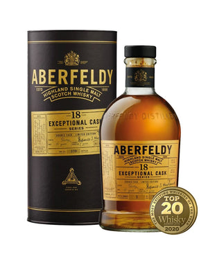 Aberfeldy 18 Year Old Exceptional Cask Series Double Cask Highland Single Malt Scotch Whisky at CaskCartel.com