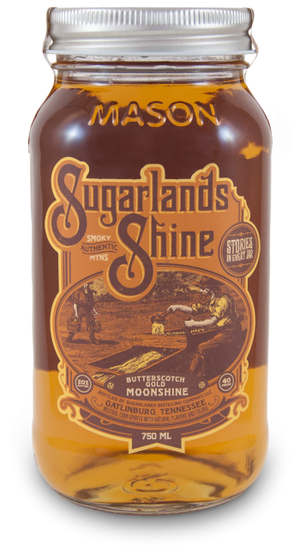 Sugarlands Shine Butterscotch Gold Moonshine - CaskCartel.com