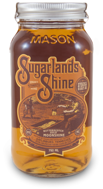 Sugarlands Shine Butterscotch Gold Moonshine