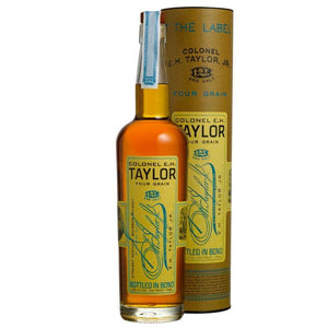 Colonel E.H. Taylor, Jr Four Grain Bottled-in-Bond Straight Kentucky Bourbon Whiskey - CaskCartel.com