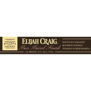 Elijah Craig Beer Barrel Finished Kentucky Straight Bourbon Whiskey - CaskCartel.com