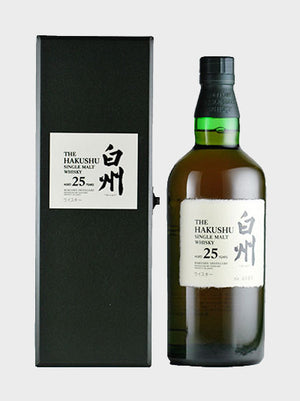 Hakushu 25 Year Old Whisky - CaskCartel.com