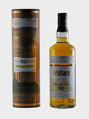 Sake Shop Sato – The Benriach 1995 Whisky - CaskCartel.com