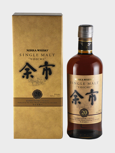 Final Product Nikka Yoichi 20 Year Old Whisky