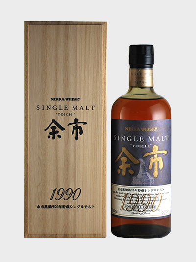Yoichi 20 Year Old 1990 Single Malt Whisky
