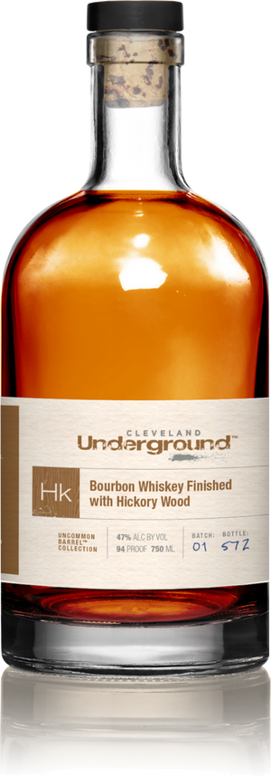 Cleveland Underground Hickory Wood Finished Bourbon Whiskey - CaskCartel.com