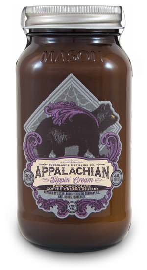 Sugarlands Appalachian Sippin?? Cream Dark Chocolate Coffee Cream Liqueur - CaskCartel.com