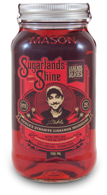 Moonshiners | Sugarlands Shine Tickle's Dynamite Cinnamon Moonshine