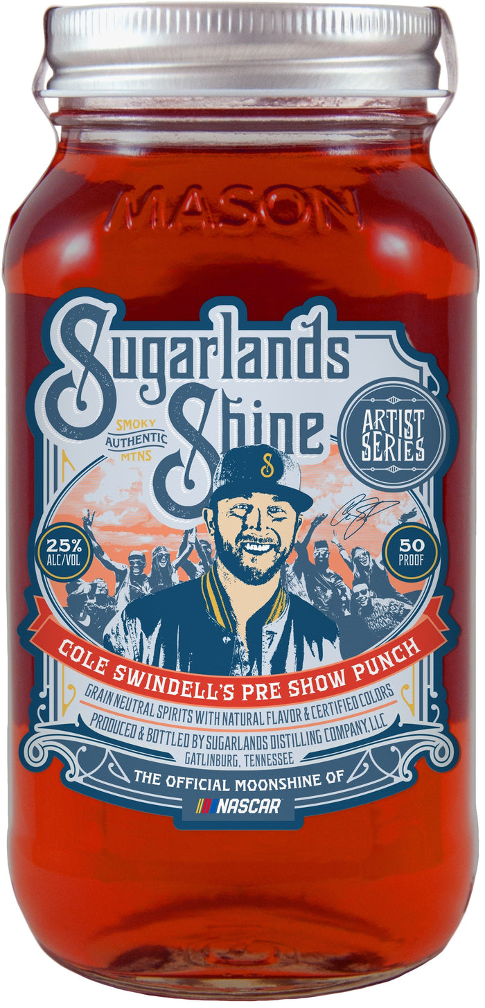 Cole Swindell's Pre Show Punch Sugarlands Shine Moonshine