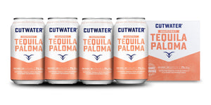 Cutwater | Spirits Grapefruit Tequila Paloma (4) Pack Cans at CaskCartel.com