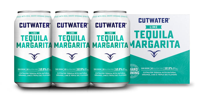 Cutwater | Lime Tequila Margarita (4) Pack Cans
