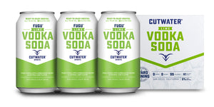 Cutwater | Fugu Lime Vodka Soda (4) Pack Cans at CaskCartel.com