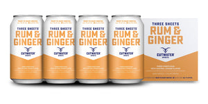 Cutwater | Three Sheets Rum & Ginger (4) Pack Cans at CaskCartel.com