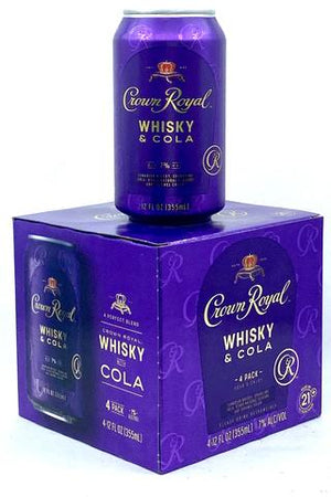 Crown Royal Whisky & Cola at CaskCartel.com