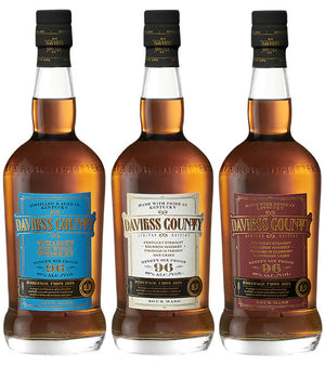 Daviess County Bourbon Whiskey | 3-Pack Tasting Bundle