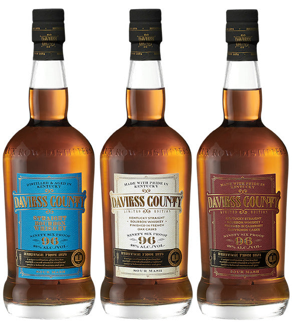 Daviess County Bourbon Whiskey | 3-Pack Tasting Bundle | Holiday Set