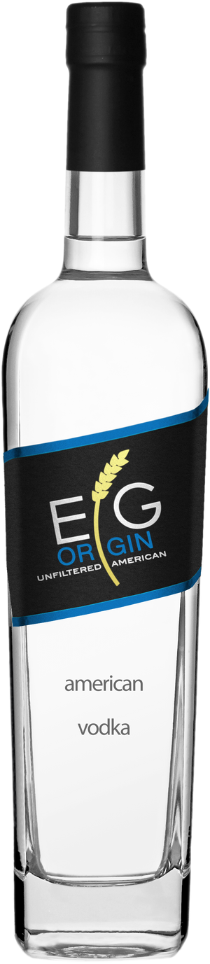 EG Origin Unfiltered American Vodka - CaskCartel.com