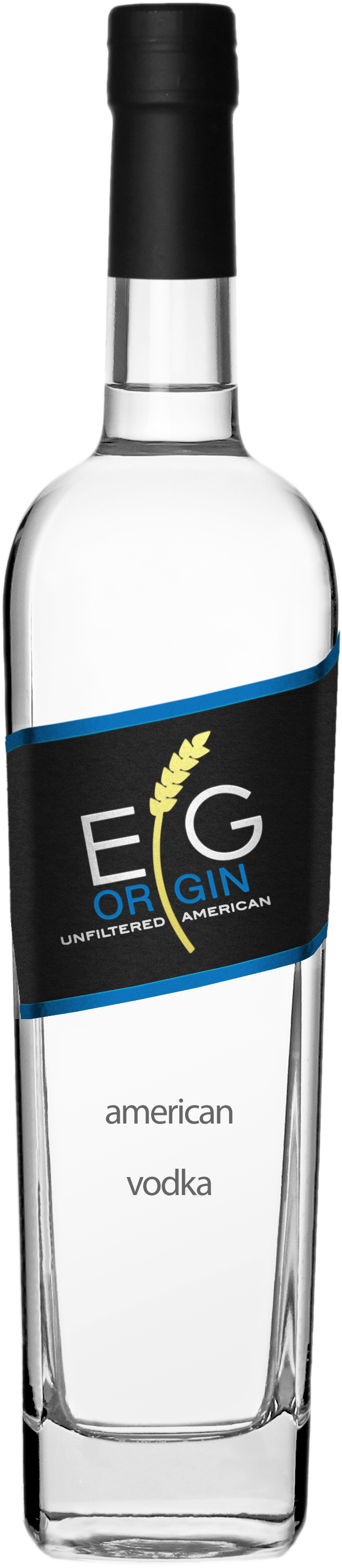 EG Origin Unfiltered American Vodka