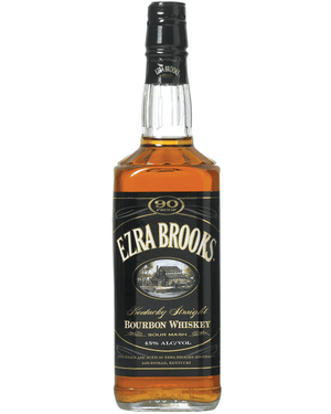 Ezra Brooks 90 Proof Kentucky Sour Mash Bourbon Whiskey at CaskCartel.com